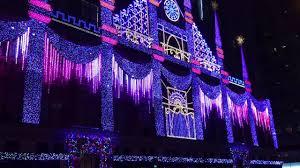 christmas light show 2016 saks fifth avenue nyc christmas light show 2016 youtube