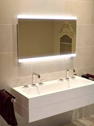 lucent wide led light bathroom mirror 851h illuminated bathroom