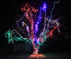 crazy christmas tree lights crazy trees the glowing trend inaray design group