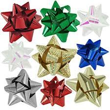 amazon com 72pc designer holiday christmas gift bow assortment