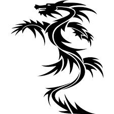 tribal dragon tattoos designs and ideas xovain clip art library