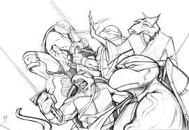 alberto muriel dibujante ilustracion y comic teenage mutant