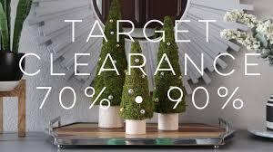 target home decor christmas clearance 70 u0026 90 youtube