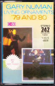 gary numan living ornaments 79 and 80 cassette album at discogs