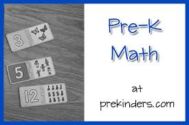 pre k math pages prekinders