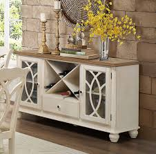 homelegance azalea server antique white 5145w 40