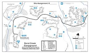 Utah National Park Map by Dorst Creek Campground Sequoia National Park One Of The Best