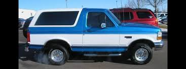 blue bronco car 1994 ford bronco information and photos zombiedrive