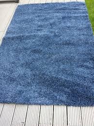 Grass Rug Ikea by Deep Pile Rug Ikea Alhede Blue In Swindon Wiltshire Gumtree