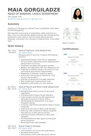 Smart Resume Sample by Banking Resume Samples Visualcv Resume Samples Database