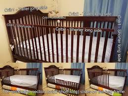 Convertible Crib To Full Size Bed by How I Made My Crib We Bought Two Baby Cribs Of The Same Color And