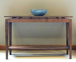Console Entry Table Unique Entry Console Tables Western Walnut Entry Table Unique