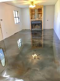 metallic epoxy flooring lafayette la concrete design