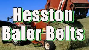 hesston 5530 hay baler belts lowest price youtube