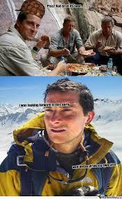 Man Vs Wild Meme - rmx man vs wild fail by ethan smosh meme center