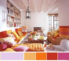 lovable colorful interior design ideas home library shelving ideas