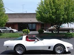 1981 white corvette 1981 chevrolet corvette only 42 000 original daniel