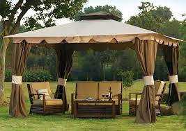 Netting For Patio by Pergola Wonderful Gazebo With Netting And Curtains Amazon Com 10