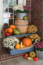 fall decor front door entryway ideas