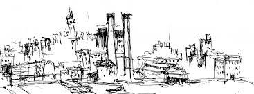 skyline sketch by jason j nicholas jason j nicholas