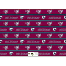 manly wrapping paper manly sea eagles gift wrapping paper nrl merchandise