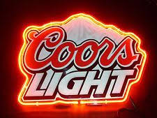 coors light bar sign coors light frosted tin sign beer and bar signs pinterest
