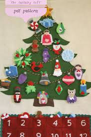 tree advent calendar 29 ornaments by thelullabyloft