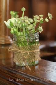 wedding flowers jam jars how to create rustic wedding flowers in a country church