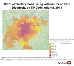 Atlanta Ga Map Metro Atlanta At The Center Of A Burgeoning Hiv Crisis Georgia