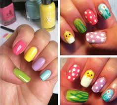colorful nail designs for kids cute hello kitty nail designs