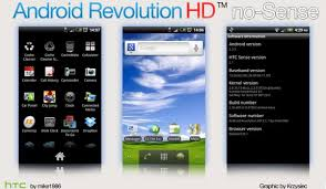 android revolution hd flash sense less android 2 3 5 gingerbread on htc desire hd via