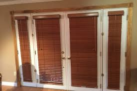 Blind For Windows And Doors Astounding Wood French Door Blinds Images Best Inspiration Home
