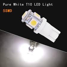 Led Light Bulbs Ebay by 20 Pcs Super White T10 Wedge 5 Smd 5050 Led Light Bulbs W5w 2825