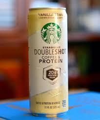 starbucks doubleshot vanilla light starbucks doubleshot coffee protein vanilla bean reviewed