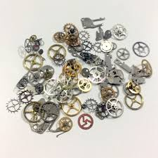 steampunk nail vintage watch gears assorted u2013 daily charme