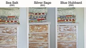 side by side comparison sea salt sherwin williams silver sage