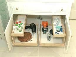 bathroom cabinet organizer ideas cabinet storage solutions bathroom cabinet organizers