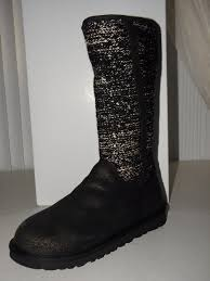 uggs womens boots on ebay 75 ugg australia camaya size 6 m black bronze slouch womens boots