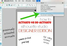 Home Designer Pro Activation Key Activating Or Re Activating Silhouette Studio Designer Edition