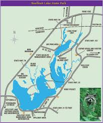 Tennessee State Parks Map by Reelfoot Lake State Park Maplets