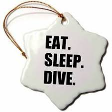 scuba diver polish glass christmas ornament you can find more