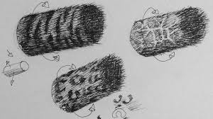 pen u0026 ink drawing tutorial how to create animal fur patterns
