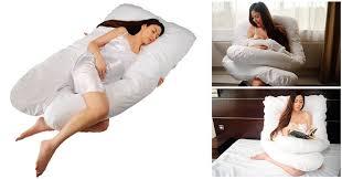 cuscini per dormire bene come dormire in gravidanza supporto totale con questo cuscino