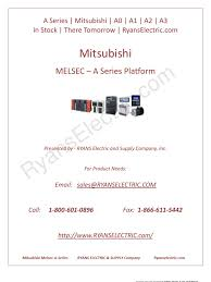 mitsubishi a2ncpu programmable logic controller central