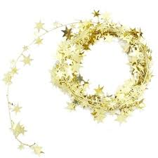 foil wire garland gold value