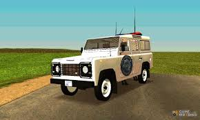 military land rover 110 land rover defender 110 ranger for gta san andreas