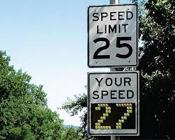 Speed Limit In Blind Intersection Color Of Variable Speed Limit Signs Could Jeopardize Criminal