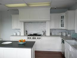 Best White Cupboards Stainless Steel Images On Pinterest - White kitchen cabinets with white backsplash