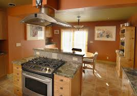 kitchen island with oven remarkable kitchen island stove oven with broan island mount range