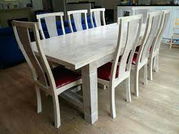 Refectory Dining Tables Bespoke Solid Wood Dining Table Handmade Rustic Oak Dining Table